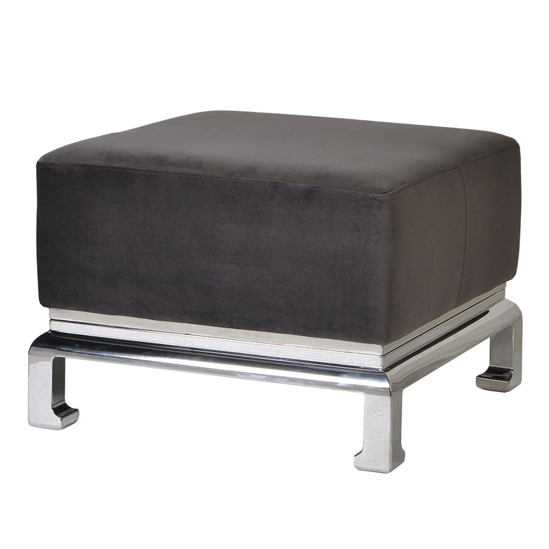 Ming Stainless Steel Foot Stool