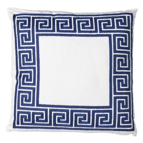 Greek Key Cushion