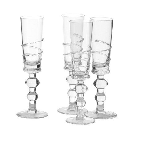 Champagne Flutes X4