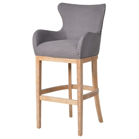 Bar Stool With Ring Back