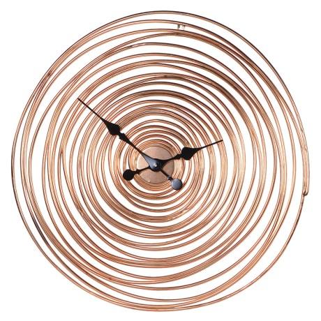 Copper Wire Wall Clock