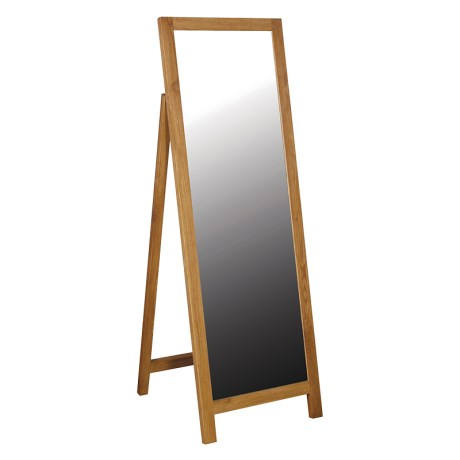 Oak Full Length Dressing Mirror