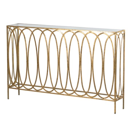 Hoops Console Table