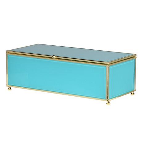 Turquoise Jewellery Box