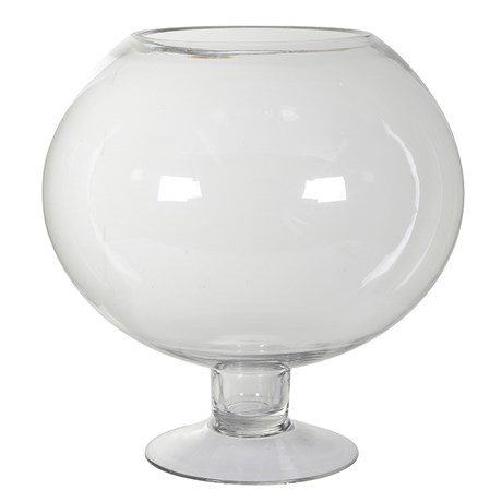 Glass Globe Jar