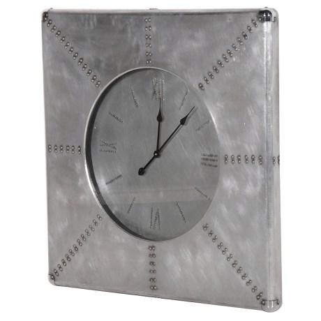 Aluminium Wall Clock