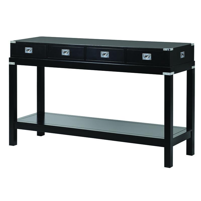 Mayfair Black Hall Table