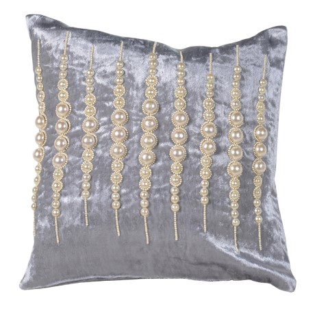 Pearl Beaded Cushion
