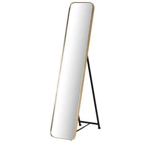 Gold Framed Tall Mirror