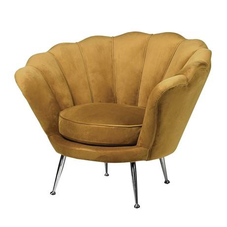 Mustard Petal Chair