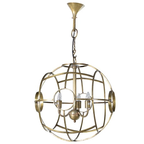 Spherical Ball Ceiling Light