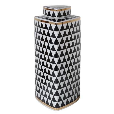 Large Monochrome Jar