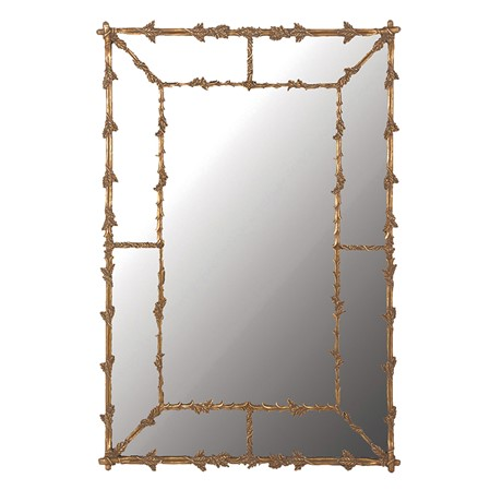 Leaves Gilt Mirror