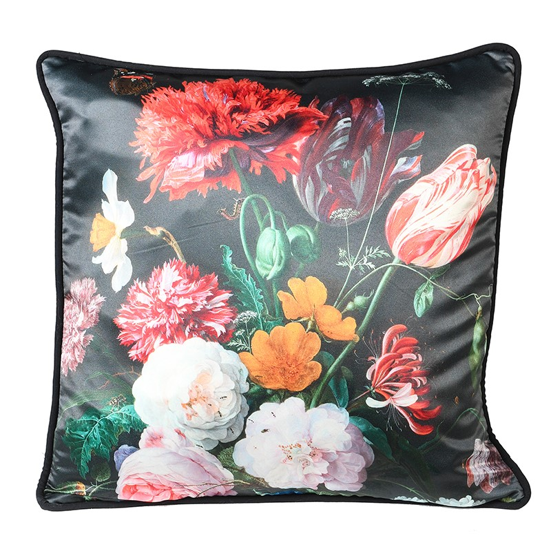 Golden Age Floral Cushion